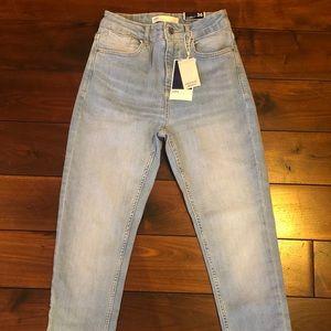 NWT ZARA High Waist Skinny Jeans